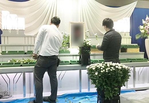 生花祭壇写真2