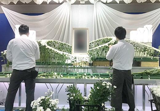 生花祭壇写真4